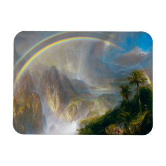 Tropical Rainbow Painting Magnet
