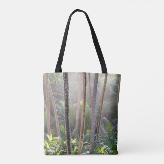 Tropical Rainforest Paradise Tote Bag