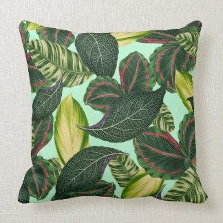 Tropical Rainforest Throw Pillow