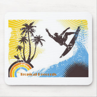 Tropical Records Mouse Pads