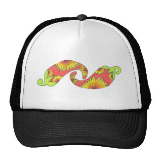 Tropical Red-Orange Peppers Trucker Hat