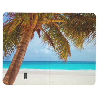Tropical Relaxing Beach Palm Scene Journals
