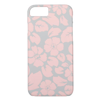 Tropical rose flower pattern iPhone 7 case