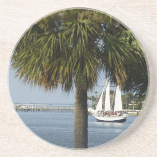 Tropical Sail Beverage Coasters