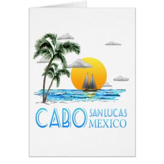 Tropical Sailing Cabo San Lucas Mexico Card