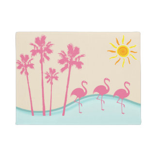 Tropical Scenic Doormat