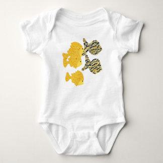 Tropical School Baby Bodysuit