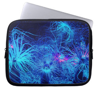 Tropical Sea Anemone Laptop Sleeve