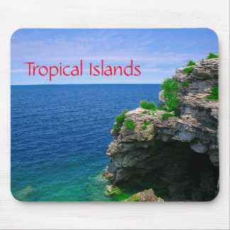 Tropical Sea Cave Mouse Pad