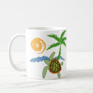 Tropical Sea Turtle Mug