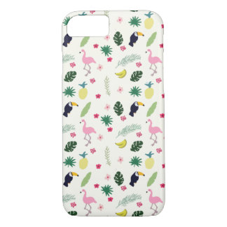 TROPICAL SEAMLESS PATTERN iPhone 8/7 CASE