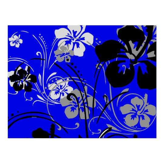 Tropical Serenade (Blue) Postcard