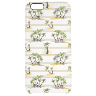 Tropical Shack And Palms Clear iPhone 6 Plus Case