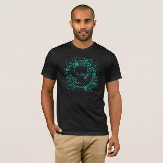 TROPICAL SHARK BLUE T-Shirt