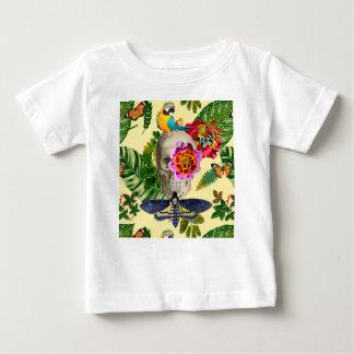 Tropical Skull Baby T-Shirt