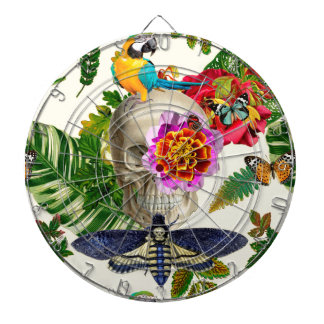 Tropical Skull Dartboard