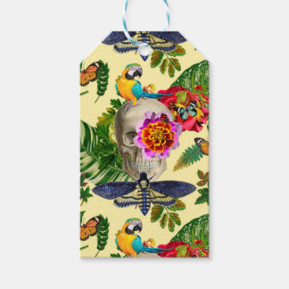 Tropical Skull Gift Tags