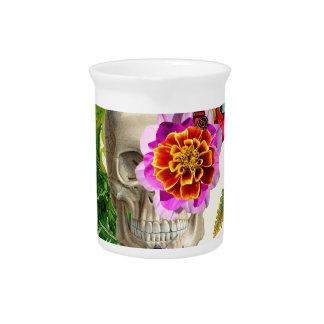 Tropical Skull Pitcher