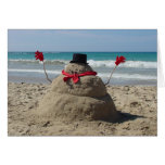 Tropical Snowman  Cards