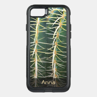 Tropical Sphere Cactus Botanical Photo any Text OtterBox Commuter iPhone 7 Case