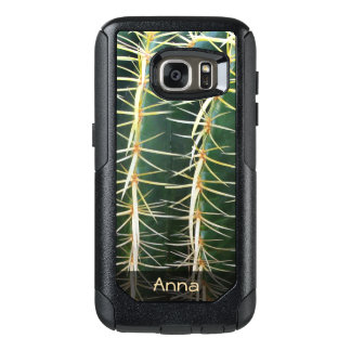 Tropical Sphere Cactus Botanical Photo any Text OtterBox Samsung Galaxy S7 Case