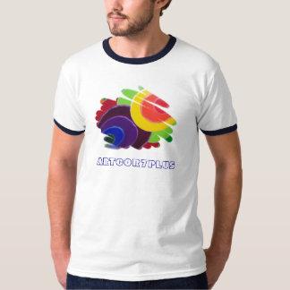 Tropical Spirals Men Ringer  T- Shirt
