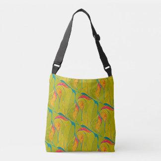 Tropical Splash Cross-Body Bag
