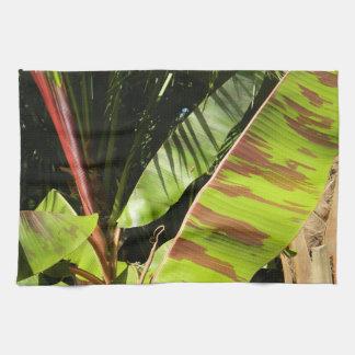 tropical splendor tea towel