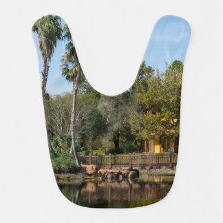 Tropical Springs Paradise Bib