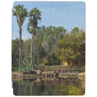 Tropical Springs Paradise iPad Cover