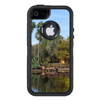 Tropical Springs Paradise OtterBox Defender iPhone Case
