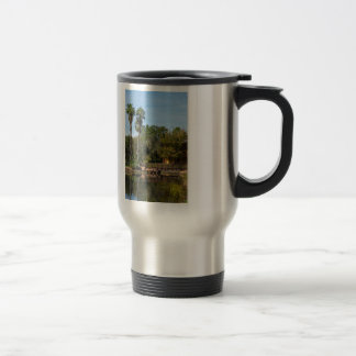 Tropical Springs Paradise Travel Mug