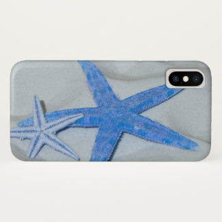 Tropical Starfish On A White Sandy Beach iPhone X Case