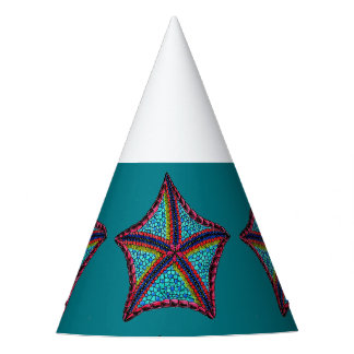 Tropical Starfish Party Hat