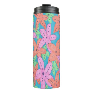 Tropical Starfish Thermal Tumbler