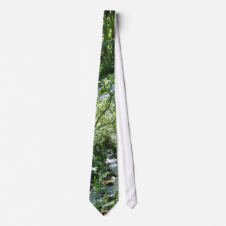 Tropical Stream in Hawaii Tie