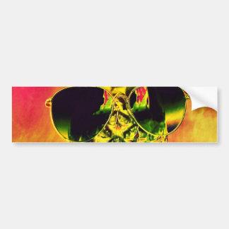 Tropical Summer Bumper Sticker