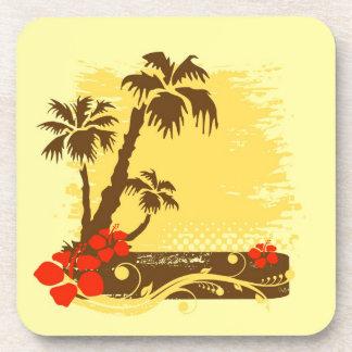 Tropical summer coaster