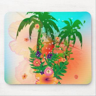 Tropical summer design mousepads