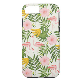 Tropical Summer Flamingo iPhone 7 Case