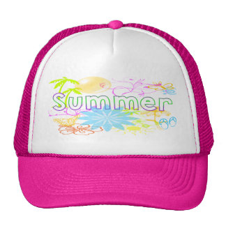 Tropical Summer Hat