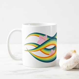 Tropical Summer Island Tentacles Coffee Mug