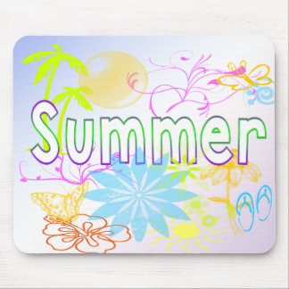 Tropical Summer Mousepad