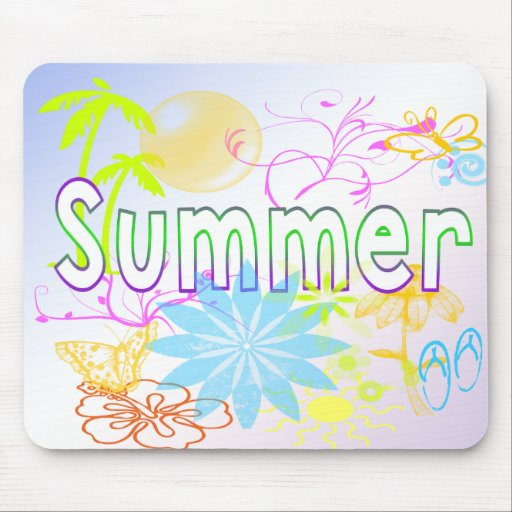 Tropical Summer Mousepad