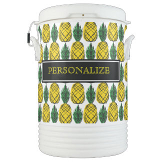 TROPICAL SUMMER PINEAPPLE COOLER