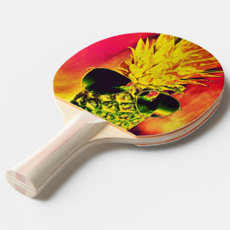 Tropical Summer Ping Pong Paddle
