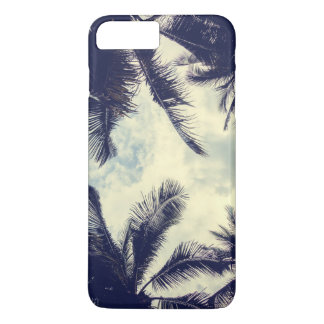 Tropical Summer Sky and Palm Leaves   Phone Case