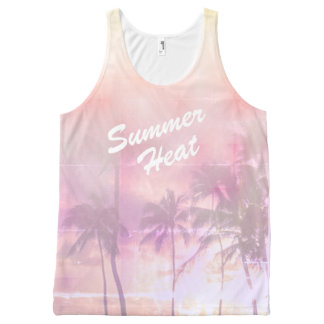 Tropical summer vibes All-Over print singlet