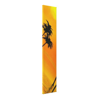Tropical Sunset 3-4 Canvas Print
