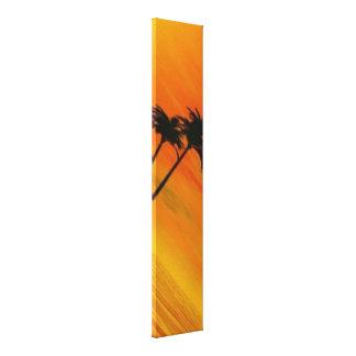 Tropical Sunset 4-4 Canvas Print